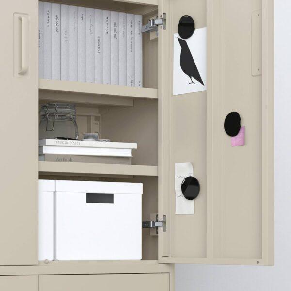 ИДОСЕН Шкаф с электронным замком, бежевый 80x119 см - 692.871.94