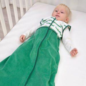 РЁРАНДЕ Спальный конверт, крокодил/зеленый 84 см - 304.651.25
