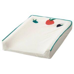 ВЭДРА Чехол на пеленальную подстилку, орнамент «фрукты/овощи» 74x48 см - 304.626.07