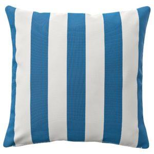 ФУНКЁН Чехол на подушку, д/дома/улицы, синий/белый 50x50 см - 004.384.78