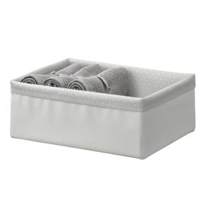БАКСНА Органайзер, серый/белый 20x26x10 см - 404.743.70