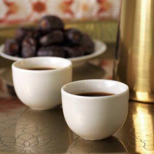ЛЬЮВАРЕ Кофейная чашка, белый с оттенком 9 сл - 204.921.10