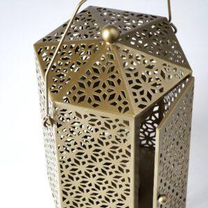 ЛЬЮВАРЕ Фонарь для формовой свечи, золотой 32 см - 004.921.11