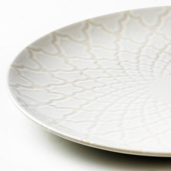 ЛЬЮВАРЕ Тарелка, белый с оттенком 27 см - 704.921.17