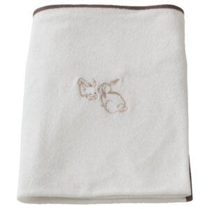 ВЭДРА Чехол на пеленальную подстилку, кролик/белый 74x80 см - 204.941.52
