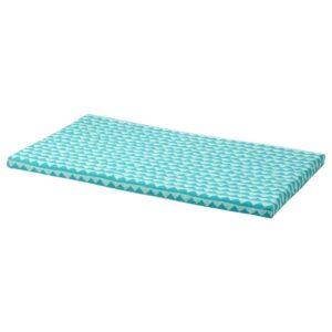 БЭНККАМРАТ Подушка на скамью, бирюзовый 90x50x3 см - 804.812.03