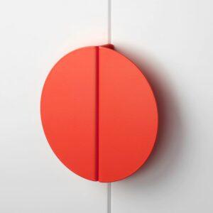 БЕГРИПА Ручка, оранжевый/полукруг 130 мм - 504.461.31