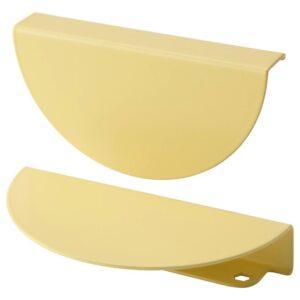 БЕГРИПА Ручка, желтый/полукруг 130 мм - 204.693.98