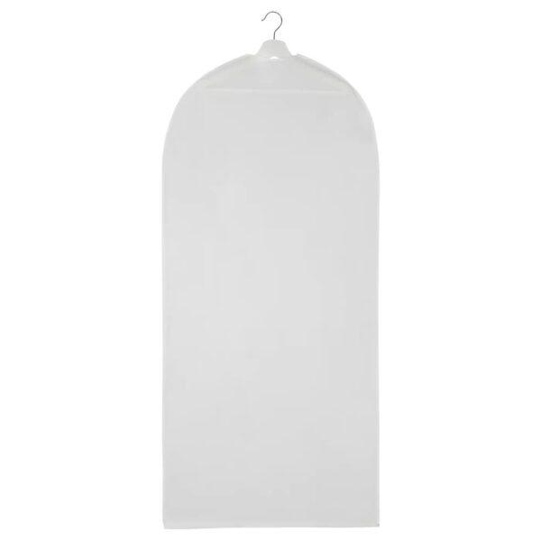 ХОДДА Чехол для одежды, прозрачный белый 60x130 см - 205.031.80