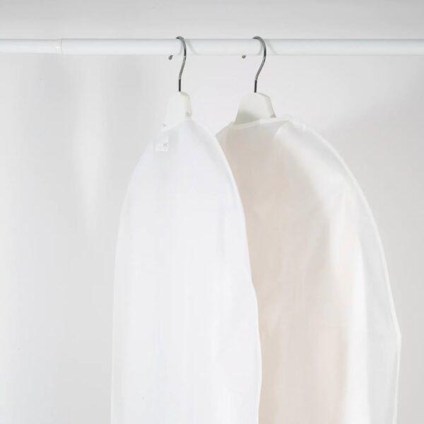 ХОДДА Чехол для одежды, прозрачный белый 60x105 см - 405.031.79