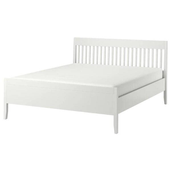 ИДАНЭС Каркас кровати, белый/Леирсунд 180x200 см - 294.065.18