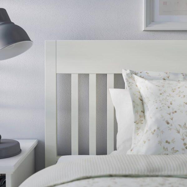 ИДАНЭС Каркас кровати, белый/Лонсет 160x200 см - 994.065.10