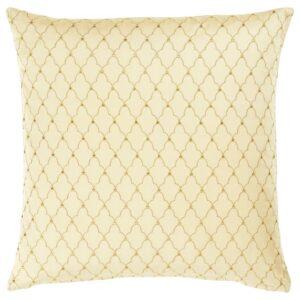 ЛЬЮВАРЕ Чехол на подушку, ришелье бежевый 50x50 см - 804.921.07