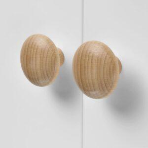 ПЛОККАР Ручка мебельная, дерево 49 мм - 604.461.35