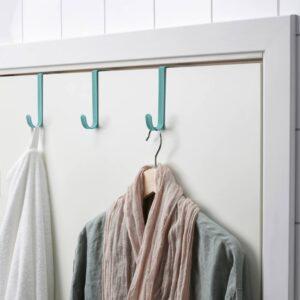 СНИГГИНГ Дверная вешалка, бирюзовый - 904.769.27