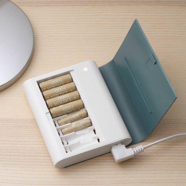 ЧУГУ Зарядное устройство с отделением, серо-зеленый - 904.351.78