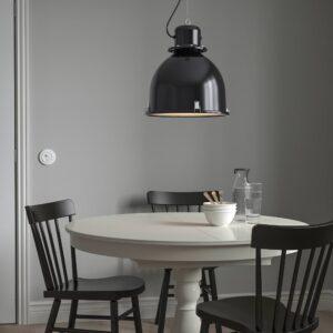 СВАРТНОРА Подвесной светильник, черный 38 см - 504.519.00