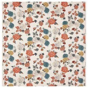 ТРОЛЛМАЛ Ткань, неокрашенный/цветочный орнамент 150 см - 104.855.82