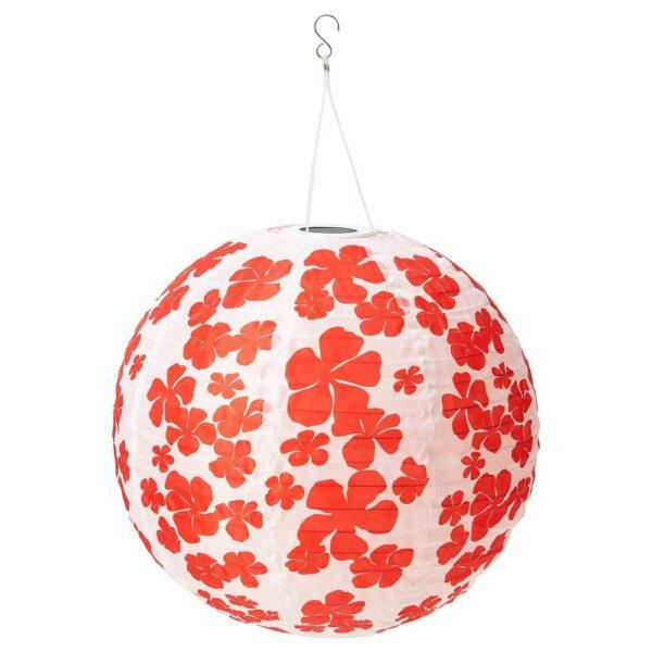 СОЛВИДЕН Подвесная светодиодная лампа, для сада шаровидный/цветок 45 см - 704.845.46