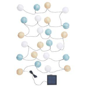 СОЛВИДЕН Гирлянда, 24 светодиода, для сада/шаровидный разноцветный - 104.870.29
