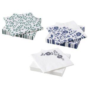 РОЗЕНХЭТТА Салфетка бумажная, разные цвета 33x33 см - 504.812.85