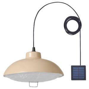 СОЛВИДЕН Подвесная светодиодная лампа, для сада/бежевый 38 см - 804.869.41