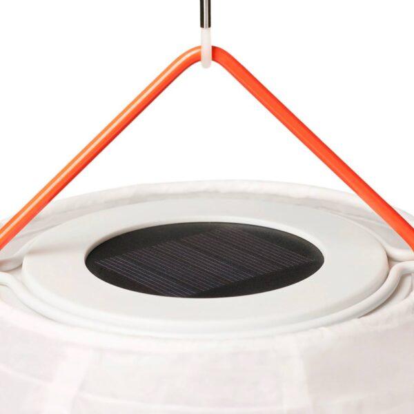 СОЛВИДЕН Подвесная светодиодная лампа, для сада шаровидный/в форме алмаза 30 см - 804.869.22