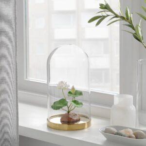 ФЕЙКА Растение искусственное, д/дома/улицы/Водяная лилия белый 13 см - 104.761.63