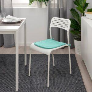 Подушка на стул, светлая бирюза д/дома/улицы 34x34x1.0 см - 404.921.71
