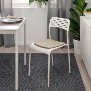 Подушка на стул, серо-бежевый д/дома/улицы 34x34x1.0 см - 204.846.62
