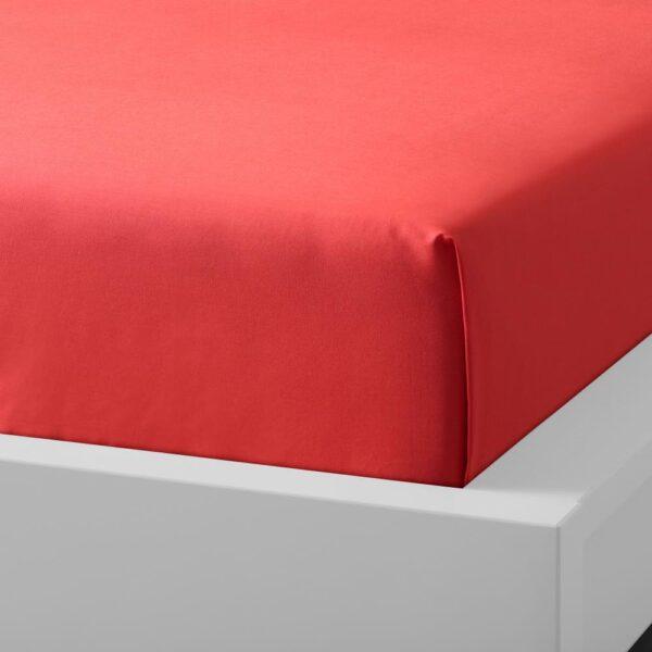 УЛЛЬВИДЕ Простыня, красный/оранжевый 150x260 см - 605.007.02