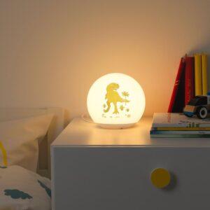 ЭНГАРНА Настольная лампа, светодиодная, динозавр - 804.960.11