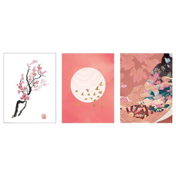 БИЛЬД Постер, Ветка вишни в цвету 30x40 см - 404.914.64