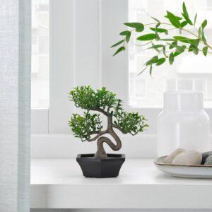 ФЕЙКА Искусственное растение и кашпо, д/дома/улицы бонсай - 404.761.52
