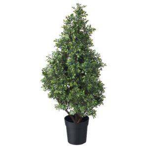 ФЕЙКА Искусственное растение в горшке, д/дома/улицы самшит 19 см - 904.761.02
