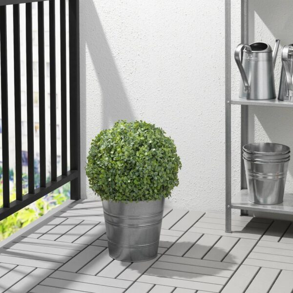ФЕЙКА Растение искусственное, д/дома/улицы/самшит в форме шара 35 см - 304.760.96