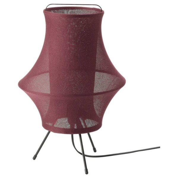 ФИКСНЭС Лампа настольная, темно-красный 44 см - 304.872.50