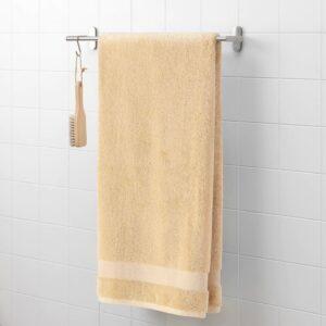 ХОПОТ Банное полотенце, коричневый 70x140 см - 604.985.96
