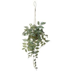 ИНВЭНДИГ Растение искусственное, подвесной Традесканция 70 см - 804.833.39
