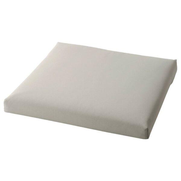 КУДДАРНА Подушка на сиденье,д/садовой мебели, серый 62x62 см - 604.111.26