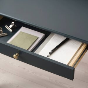 ЛОММАРП Письменный стол, темный сине-зеленый 90x54 см - 804.428.29