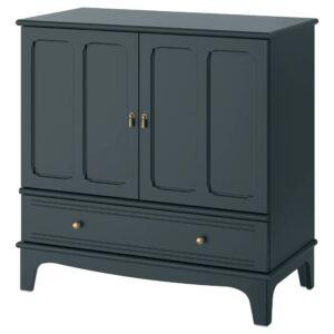 ЛОММАРП Шкаф, темный сине-зеленый 102x101 см - 404.154.70