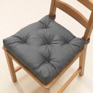 МАЛИНДА Подушка на стул, серый 40/35x38x7 см - 104.779.78