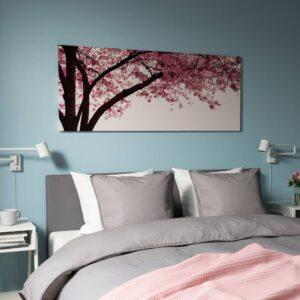 ПЬЕТТЕРИД Картина, Вишневое дерево в цвету 140x56 см - 704.914.91