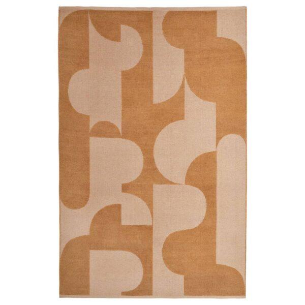 РЁДАСК Ковер безворсовый, светло-коричневый 133x195 см - 304.876.22
