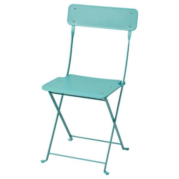 САЛЬТХОЛЬМЕН Садовый стул, складной/бирюзовый - 305.059.99