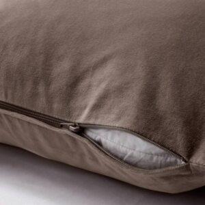 САНЕЛА Чехол на подушку, серый/коричневый 50x50 см - 304.901.96