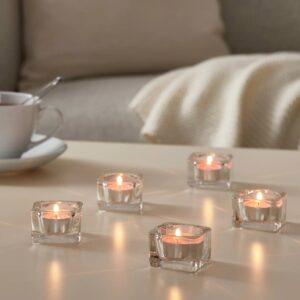 СИНЛИГ Свеча греющая ароматическая, Вишневый/ярко-розовый - 304.825.54