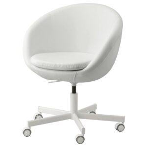 СКРУВСТА Рабочий стул, Исан белый - 504.030.04