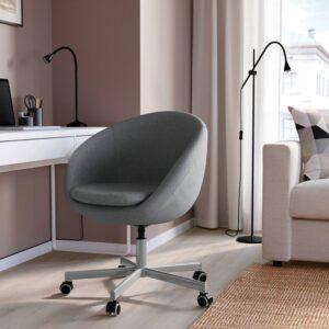 СКРУВСТА Рабочий стул, Висле серый - 103.843.52